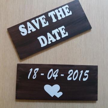 Placa decorativa pré casamento