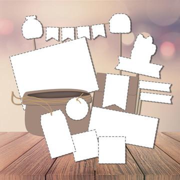 Criação Kit Festa para Imprimir
