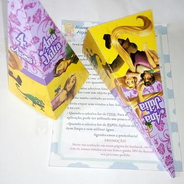 Caixa Pirâmide - Enrolados/Rapunzel