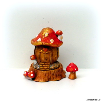 3 pçs.Kit Cogumelo-miniaturas terrário