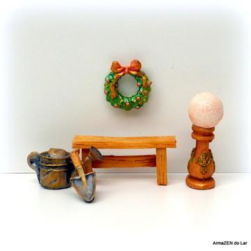 5 pçs.Kit Glaze ball-miniaturas terrário
