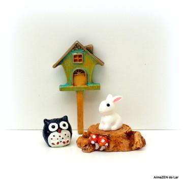 4 pçs.Kit animais-miniaturas terrário