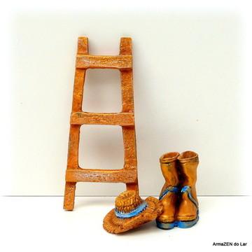 3 pçs.Kit Escada-miniaturas terrário