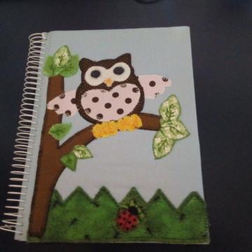 Caderno encapado