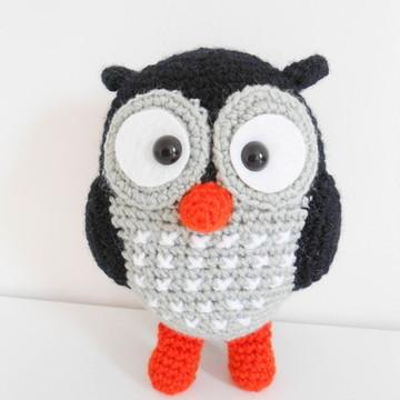 Amigurumi Coruja Preta (Owl Gurumi)