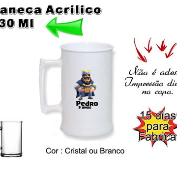 Caneca chopp Clash Royale