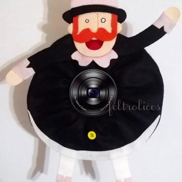 Bita para lente de máquina fotográfica