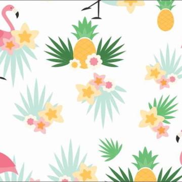 Painel Flamingos G - Frete Grátis