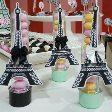 Tubete decorado tema Paris