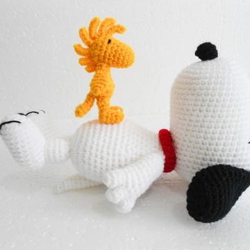 Amigurumi Snoopy and Woodstock
