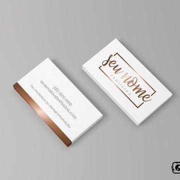 Cartão de Visita Simples- Arte Digital