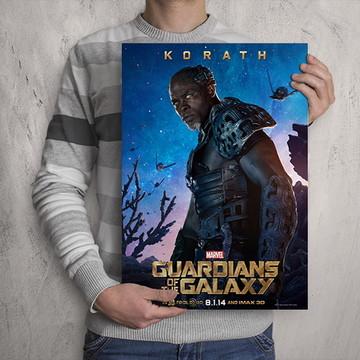 Quadro Guardiões da Galáxia / Korath