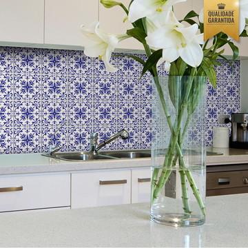 Adesivo de azulejo estilo português