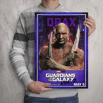Quadro Guardiões da Galáxia / Drax