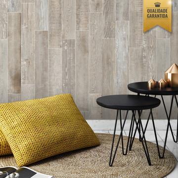 Papel de parede madeira rustica