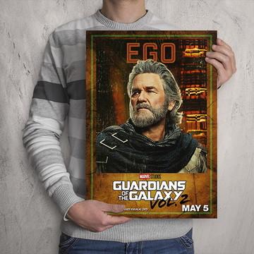 Quadro Guardiões da Galáxia / Ego