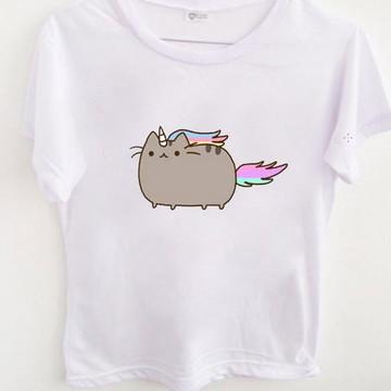 T-shirt Pusheen cat Unicorn