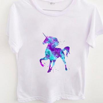 62b828a332 T Shirt Watercolor Unicorn