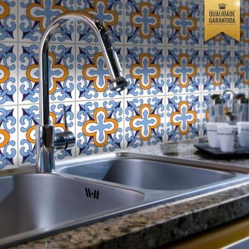 Adesivo de azulejo português cozinha
