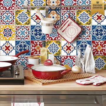 Adesivo de azulejo Mix Mariana