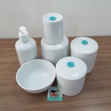 Kit Higiene em Porcelana com Moringa