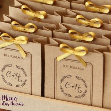 Embalagens para Kit Ressaca - Rústicas