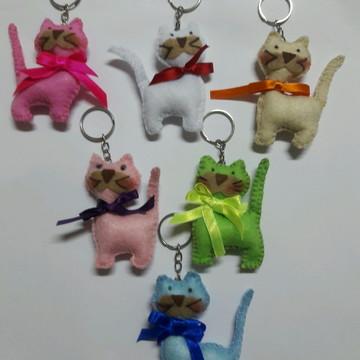 Chaveiro de gatos