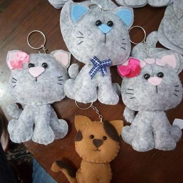 Chaveiros de gato