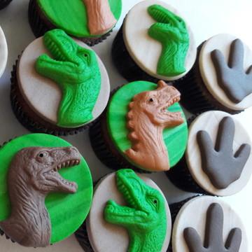 Mini cupcake Dinossauro