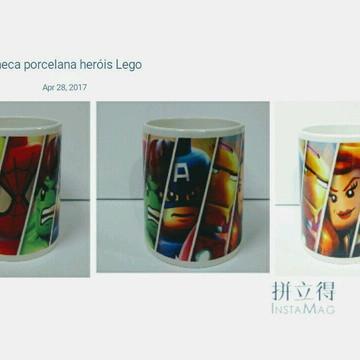 Caneca Heróis Lego