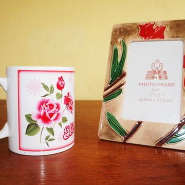 Kit Porcelana Dia Das Mães