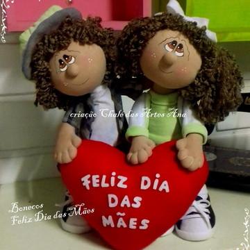Projeto Bonecos Dia das Mães