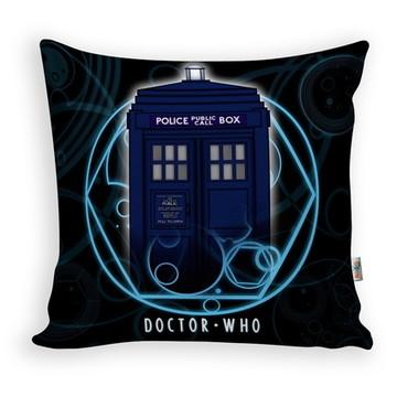 Almofada Doctor Who Tardis 28x28cm