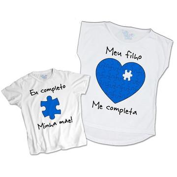 Kit body e camiseta Mae e Filho completa