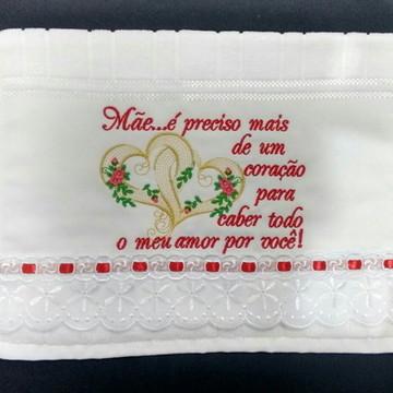 Toalha de mão para o dia das mães