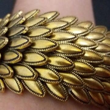 Bracelete lindo de Escamas Mermaid