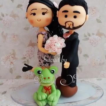 Noivinhos Personalizados Casamento Civil