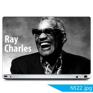 Adesivo notebook Ray Charles