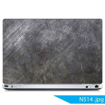 Adesivo notebook Aço escovado
