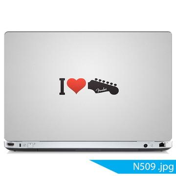 Adesivo notebook love music