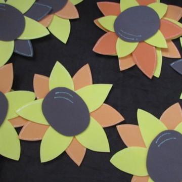 flores girassóis