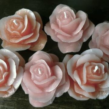 Vela Flutuante Rosa