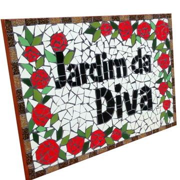 Placa para Jardim