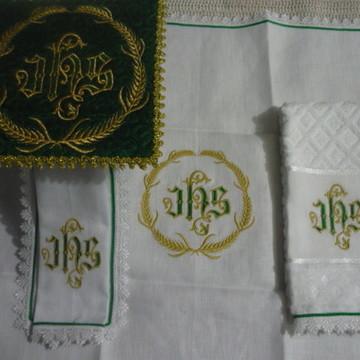 Alfaias IHS trigo - Verde