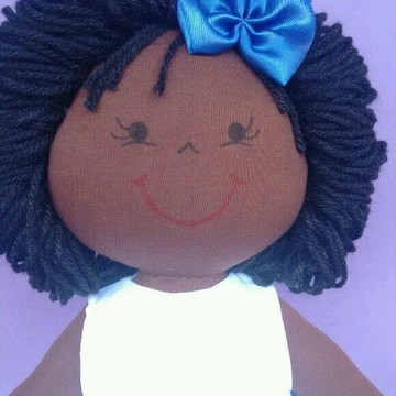 Boneca daminha negra