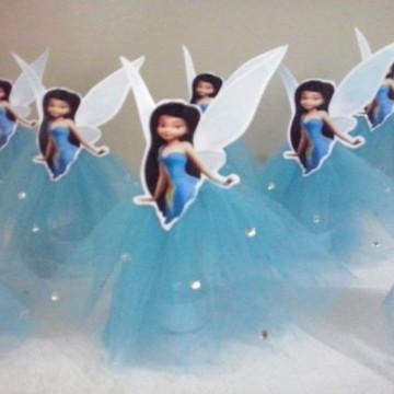 Tubete fada azul TinkerBell sininho