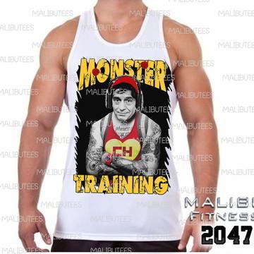 9ed6af593 Camiseta Regata Masculina Chiquinha Tatuada