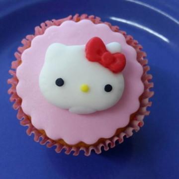 Hello Kitty aplique açúcar comestível