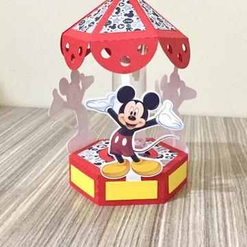 Porta tubete carrossel Mickey