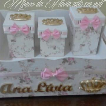 Kit Higiene Maternidade rosa